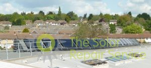 Solar water heating and PV system in North London